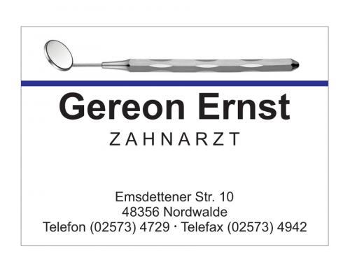 Ernst Gereon Zahnarzt